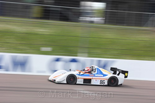 Richard Gillman in the Excool BRSCC OSS Championship at Rockingham, June 2017