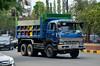 Isuzu V355 Tipper Truck (nighteye) Tags: isuzu v355 tipper truck ortigas pasig manila philippines
