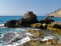 En las rocas. (valorphoto.1) Tags: seleccioónvp paisaje marina rocas mar cala photodgv