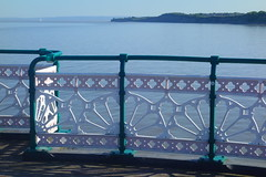 View to Lavernock (Dave Roberts3) Tags: wales penarth vale glamorgan lavernock sea blue railings ornate shadow water supershot citrit