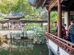 Yu Yuan (Yu Garden), Shanghai, China (Victor Wong (sfe-co2)) Tags: ancient architecture area building calm canal channel china chinese culture destination east fish garden green heritage history labyrinth lake leaf maze old oriental park pavilion peaceful people pergola plant pond reflection relax rest river rockery roof shanghai stone summerhouse terrace tourism tourist tradition traditional tranquil travel tree verandah water wood yuyuan villa