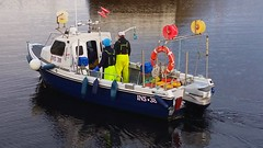 Suprise (calzer) Tags: colours fishers men crew outboard engine mariner fishing small boat hopeman early morning harbour lossiemouth 38 ins faithful suprise