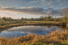 """Pond at Sunset • <a style=""""font-size:0.8em;"""" href=""""http://www.flickr.com/photos/36963585@N07/34462979264/"""" target=""""_blank"""">View on Flickr</a>"""