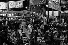 In the market (Jaime Recabal) Tags: canon 40d recabal 50mm vegacentral santiago chile frutas verduras gente venta blancoynegro monochrome blackandwhite
