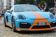 Porsche Carrera GT4 (front) (an4cron) Tags: auto 2017 motor car torino parcodelvalentino salone concept show