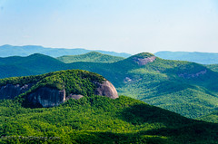 Looking Glass Rock 2 from Pounding Mill Overlook in Pisgah Natinoal Forest - Mile 413.2, Blue Ridge Parkway - Canton, NC (Paul Diming) Tags: dailyphoto nationalparksystem wagonroad landscape apalachianmountains blueridgeparkway nationalforest transylvaniacounty usda unitedstatesforestservice scenic pluton nationalparkway pauldiming spring poundingmillbranch allamericanroad unitedstatesdepartmentofagriculture monolith blueridgemountains pisgahforest plutonmonolith blueridge pisgahnationalforest transylvaniacountynorthcarolina northcarolina scenicdrive lookingglassrock nps d7000 usfs pisgahforestnorthcarolina nationalparkservice canton unitedstates us