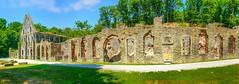 Panorama Villers-La-Ville (YᗩSᗰIᘉᗴ HᗴᘉS +6 000 000 thx❀) Tags: villerslaville abbaye ruine ruin bâtiment old arch architecture belgium belgique hensyasmine