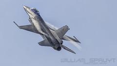 F-16 BAF FA-133 (william.spruyt) Tags: fighter jet f16 belgium airforce plane sky aviation florennes