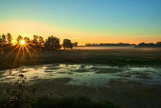 Sonnenaufgang Braunschweig-Riddagshausen;  Morgenstimmung   > Vielen Dank an alle, die sich die Zeit nehmen, meine Fotos anzusehen und zu kommentieren  < < <       > > > Interesting  Thanks to everyone who takes the time to view, comment, and fave my phot