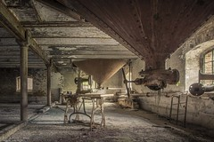 End of the line (Dennis van Dijk) Tags: adler sewing machine industry industrial eu ue urbex urban exploration abandoned forgotten decay derelict moody rust dust lost found prescious beauty amazing wanderlust