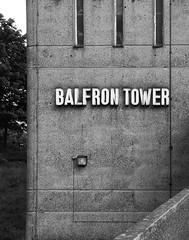 Urban walk 20 May 2017: Lewisham to Mile End 62 (neil mp) Tags: london towerhamlets poplar e14 balfrontower balfron ernőgoldfinger goldfinger modernism brutalism c20soc twentiethcenturysociety brownfieldestate harca londonewcastle blackwalltunnelapproach stleonardsroad andrewstreet blackandwhite bnw monochrome architecture signage concrete