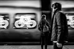 A Glimpse (Jan Jespersen) Tags: denmark københavn nørreportstation platea plateastreetphotocollective bw blackandwhite city citylife copenhagen monochrome station street streetphoto streetphotography train urban urbanlife urbanscene urbanscenes