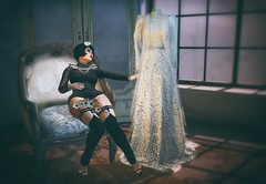 Lost Time (Spirit Eleonara) Tags: second life photography light shadow colour shiny shabby vintage lace wedding lumipro lode