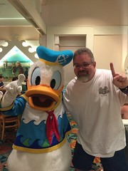 "Scott with Donald Duck • <a style=""font-size:0.8em;"" href=""http://www.flickr.com/photos/28558260@N04/34654719222/"" target=""_blank"">View on Flickr</a>"