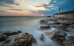 Novigrad I (Wim Air) Tags: beach stones long exposure novigrad croatia wimairat