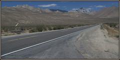 HIGHWAY 395 LOOKING NORTH TOWARD OWENS VALLEY (Gary Post) Tags: highway 395 looking north toward owens valley