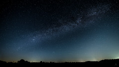 Niederrhein Grenze Ruhrgebiet (st.weber71) Tags: d800 nikon niederrhein neumond milchstrasse germany nrw nightshot sterne galaxie