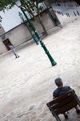 [ rejected ] ([ changó ]) Tags: santiagodecompostela wwwriccardoromanocom galicia spain es spagna people person persona gente persone street shot streetshot chair sedia panchina
