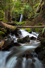 Mt. Rainier Fall (Matt Straite Photography) Tags: river stream waterfall washington nationalpark national park forest green longexposure long hike
