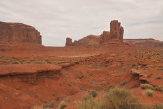 John Ford Point Monument Valley Colorado (Vee living life to the full) Tags: sky cloud clouds blue picture view nikond300 2017 holiday travel tourism tourist placestovisit traveller pleasure usa california arizona distance city architecture creosote rock cliff sheer drop mountains monumentvalley utah skyline horizon sitting geology sedimentary compression uplift