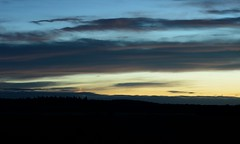 Fading light (braddalad123) Tags: dusk twilight sunset night longexposure silhouette nature light outdoor landscape clouds colour contrast nikon d3200 50mm