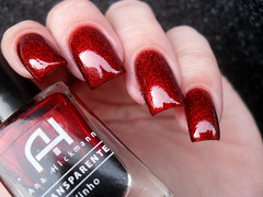 BC - Just Stars + Impala - Na Mira 3D + AH - Vinho (Barbara Nichols (Babi)) Tags: anahickmann ah vinho vermelho sanduíchedeglitter glitter nails nailpolish nailart red rednailpolish rednails