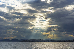 Piraeus (panos_adgr) Tags: piraeus sky sea seascape landscape water clouds sunrays sunset sony a6000 greece palaio faliro flisvos marina spring handheld hdr