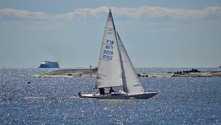 Sailing in Helsinki...