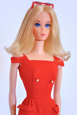 Barbie 1971 Walk Lively (miyalumix) Tags: barbie 1971 walk lively doll mattel ooak vintage mod