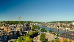 Vue sur Namur (YᗩSᗰIᘉᗴ HᗴᘉS +6 000 000 thx❀) Tags: landscape river meuse namur belgium hensyasmine town city citadelle cityscape