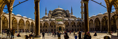 Blue mosque Pano (Sultan Ahmet Camii Mosque) (bryanasmar) Tags: mosque blue pano sony rx1 turkey istanbul