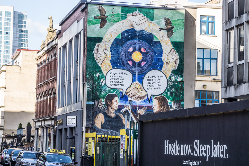 STREET ART AND GRAFFITI IN BELFAST [ANYTHING BUT THE FAMOUS MURALS]-129203