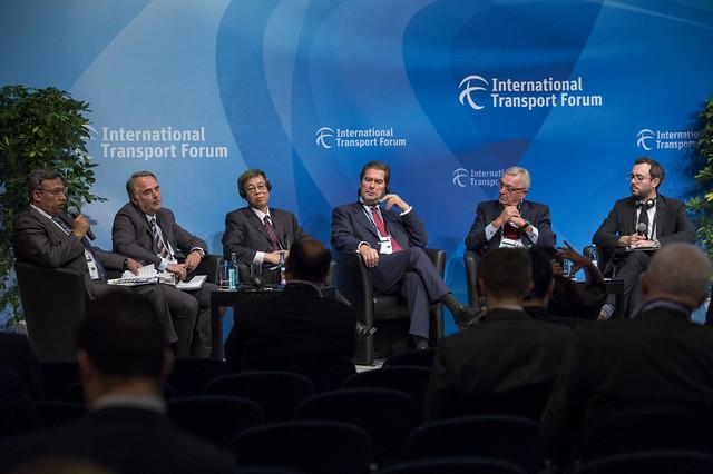 Nagy A. Amin addressing the panelists