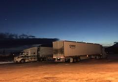 Sicamous BC (Ian Threlkeld) Tags: sicamous bc husky trucking trucks semitrucks semi sky irt canada explore explorebc