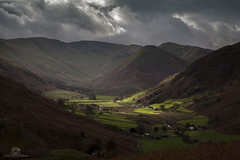 And there was light. (CamraMan.) Tags: light valley lakes canon50d boredale clouds mountains hills cumbria fields ©davidliddle ©camraman