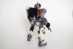 "MCS-022A ""Aardwolf III"" Main Combat System (ExclusivelyPlastic) Tags: lego mech mecha robot scifi gundam gm military japan"