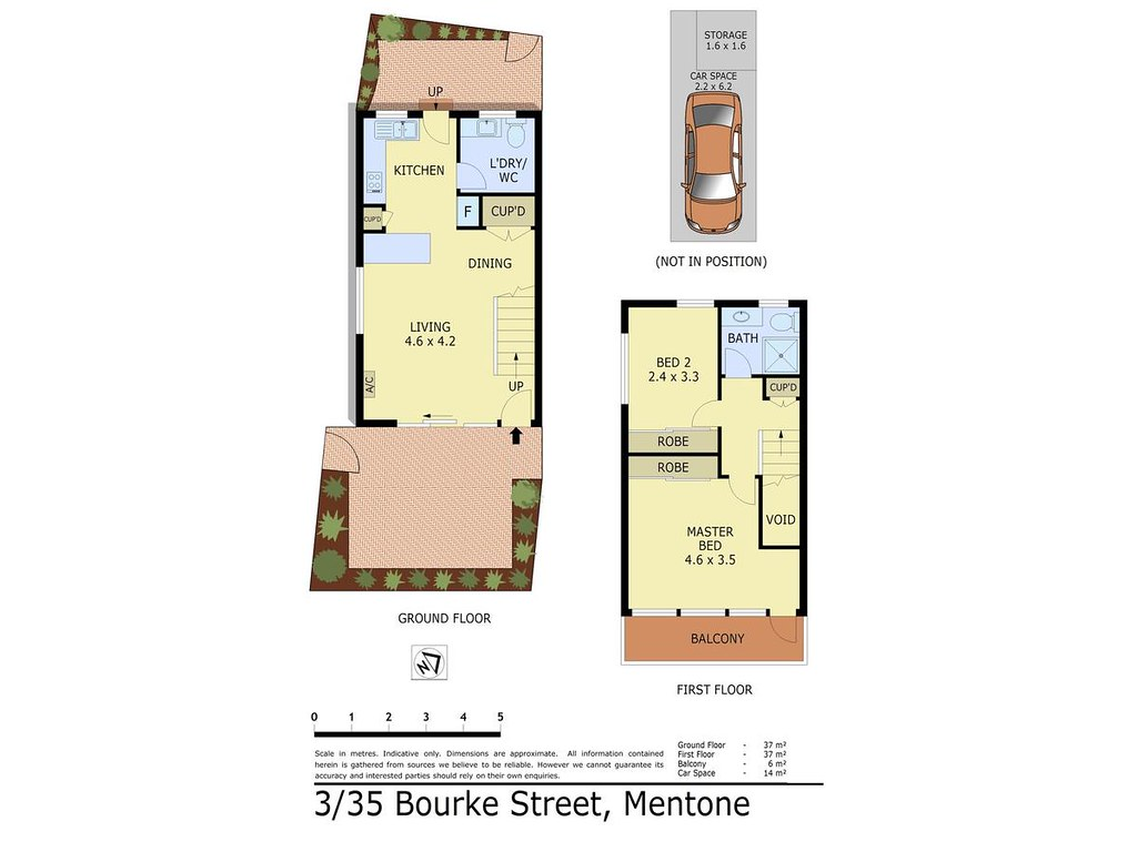 3/35 Bourke Street floorplan