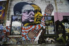 Reaching (aerojad) Tags: ossingtonlaneway eos canon 80d dslr 2017 city urban art artinpublicplaces streetart publicart mural murals graffiti vacation travel wanderlust toronto canada vibrant colorful