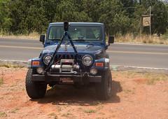 That Jeep again (twm1340) Tags: sedona airport mesa may 2017 lee pirie arizona visit tour 2001 jeep wrangler
