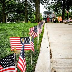 Remember. #memorialday General John Logan's Circle, Washington, DC USA - Parent of Memorial Day in the United States  #instadc #DC #activetransportation
