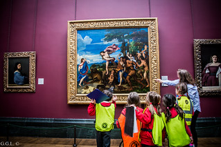The National Gallery. London. Baco y Ariadna_Tiziano.