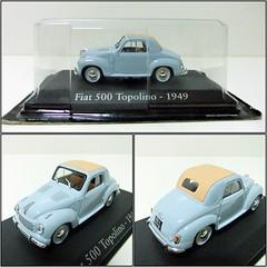 FIAT 500 TOPOLINO (1949) - RBA (RMJ68) Tags: fiat 500 c topolino 1949 ixo rba diecast coches cars juguete toy 143 scale
