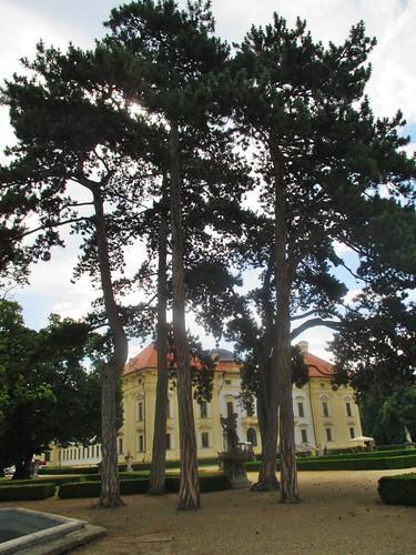 Slavkov u Brna - zámecká zahrada
