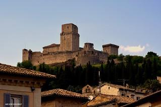 Assisi Umbria Rocca Maggiore
