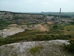 Devils Dyke to Chanctonbury Ring (Dominic's pics) Tags: shoreham cement works quarry chalk south downs way pit