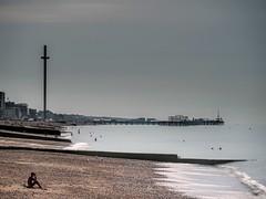 Early Summer (toddvic) Tags: sea seascape pier i360 le summer beach brighton