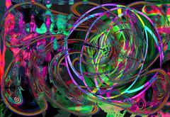 Laberintos (seguicollar) Tags: imagencreativa photomanipulación art arte artecreativo artedigital virginiaseguí color líneas curvas rayas colores pink rosa morado verde purple laberinto
