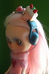 Ooak Headphones WIP- Let them eat cake