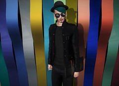 New Wave Music (EnviouSLAY) Tags: blogcollab blog collab colorful rainbow black teal music new wave glasses jacket jeans lowtops low tops clutch newreleases burley catwa bento belleza versov broberry deadwool blueberry clavv gacha common blackdenim denim amala mom mensonlymonthly mens only monthly k9 kustom9 monthlyevent monthlyfair monthlyfashion monthlymens mensmonthly mensfashion mensfair mensevent event fair fashion pride secondlifefashion secondlifephotography pale male gay blogger secondlife second life photography graficaposes grafica poses sorgo