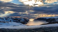 Nice sky (kjellbendik) Tags: 06juni 2017 70d canon eos junejuni norge barentsregionen blue bl㥠finnmark flickr himmel kjellbendikgmailcom magerã¸ya midnattsol mnd naturoglandskap nordnorge northnorway sky sol sun utsiktspunktet year